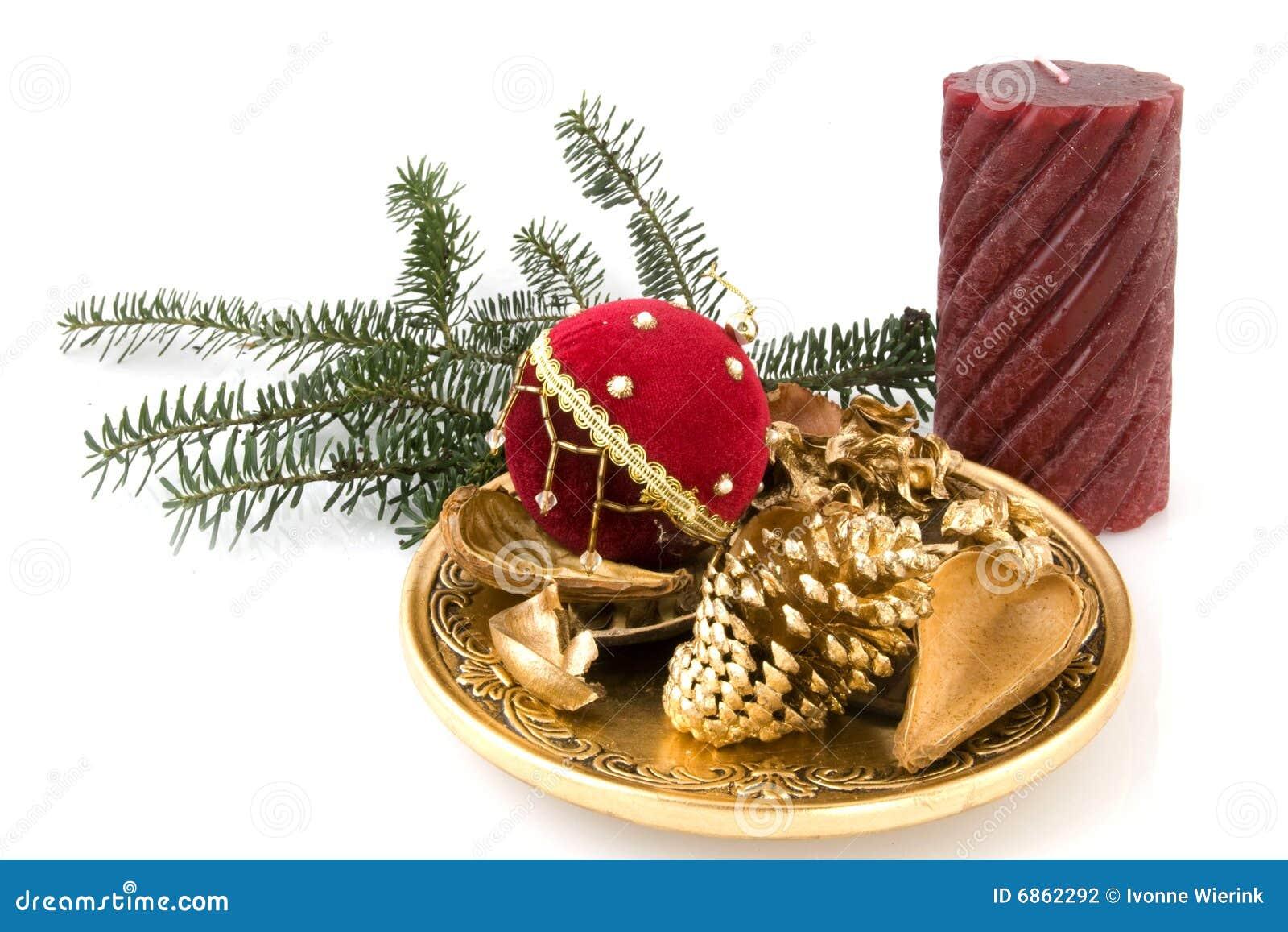 рождество золотистое