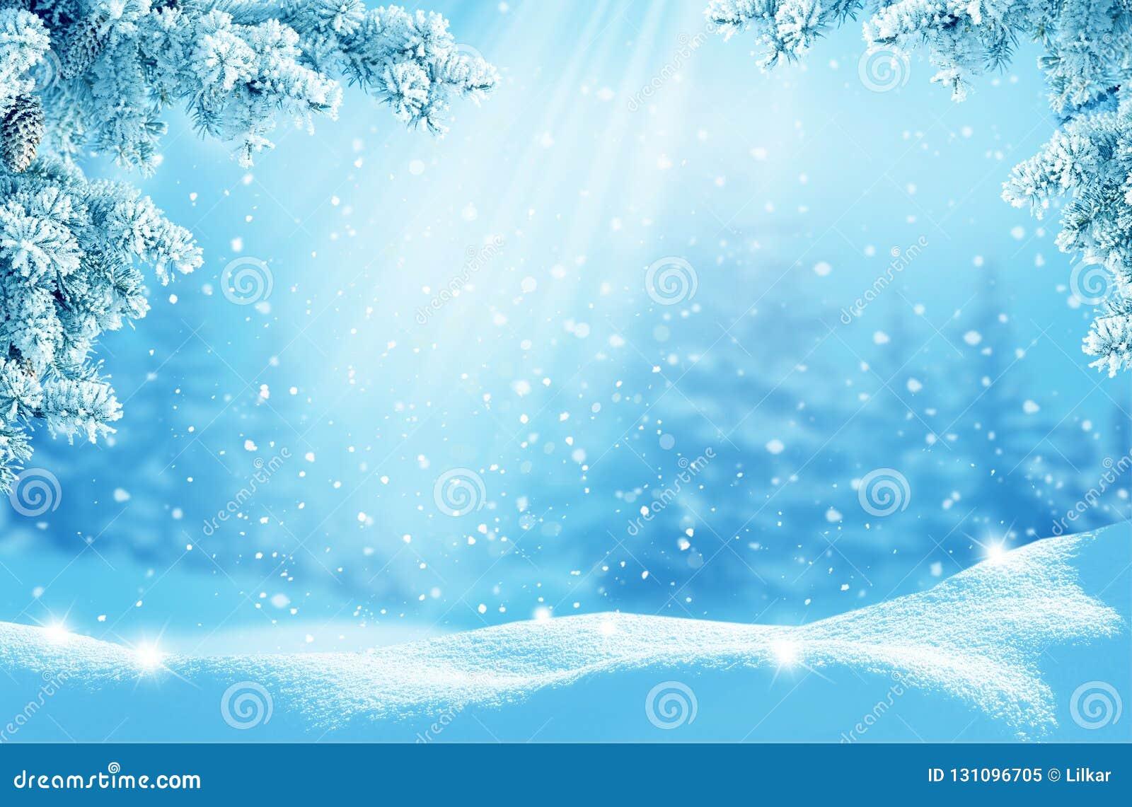 рождество карточки приветствуя счастливое веселое Новый Год Landsca зимы