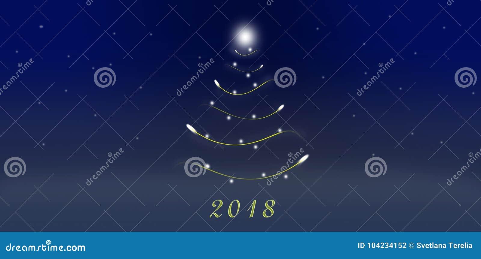 рождество моя версия вектора вала портфолио Новый Год 2018 Графический чертеж Рождество Сухой завтрак в ложке