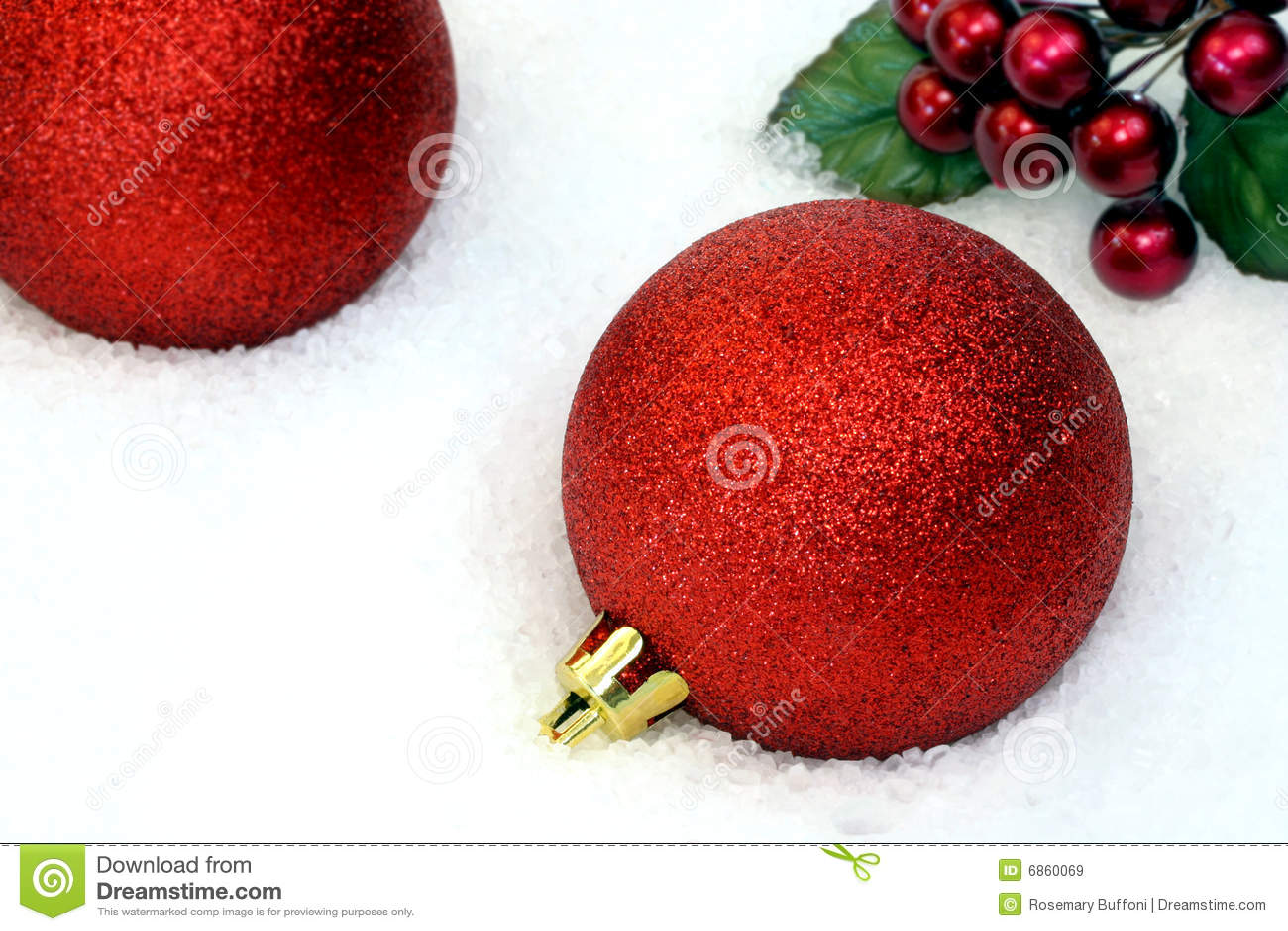 рождество орнаментирует снежок