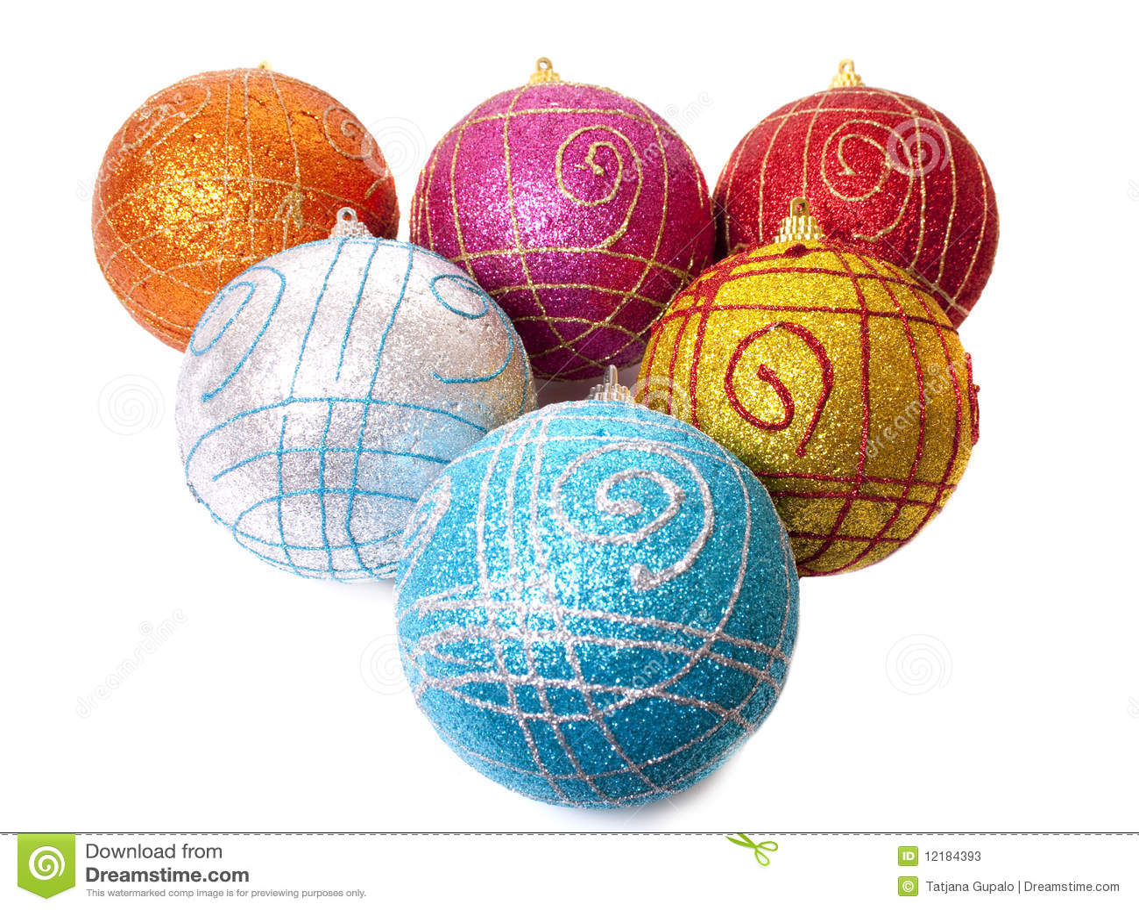 рождество шариков varicoloured
