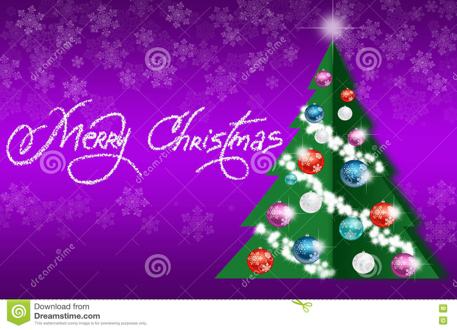 Рождественская елка с игрушками на конспекте покрасила ...