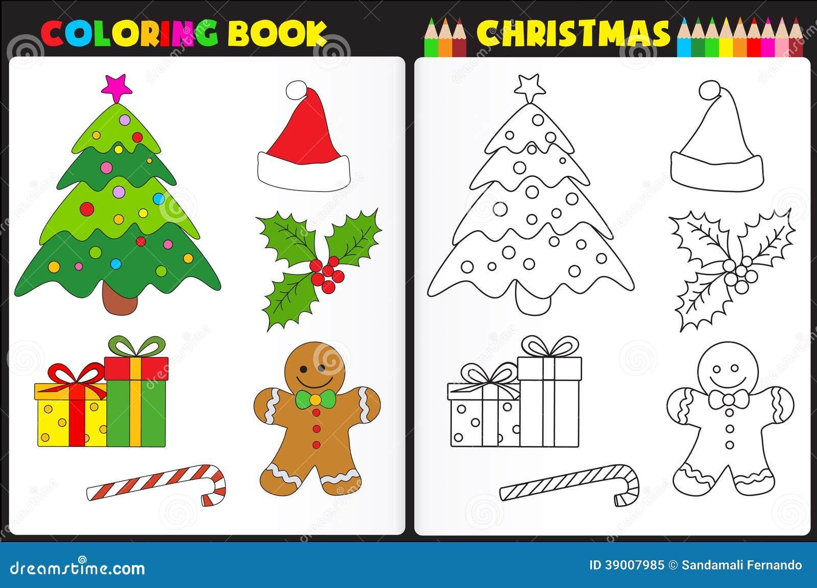 Рождество книжка-раскраски