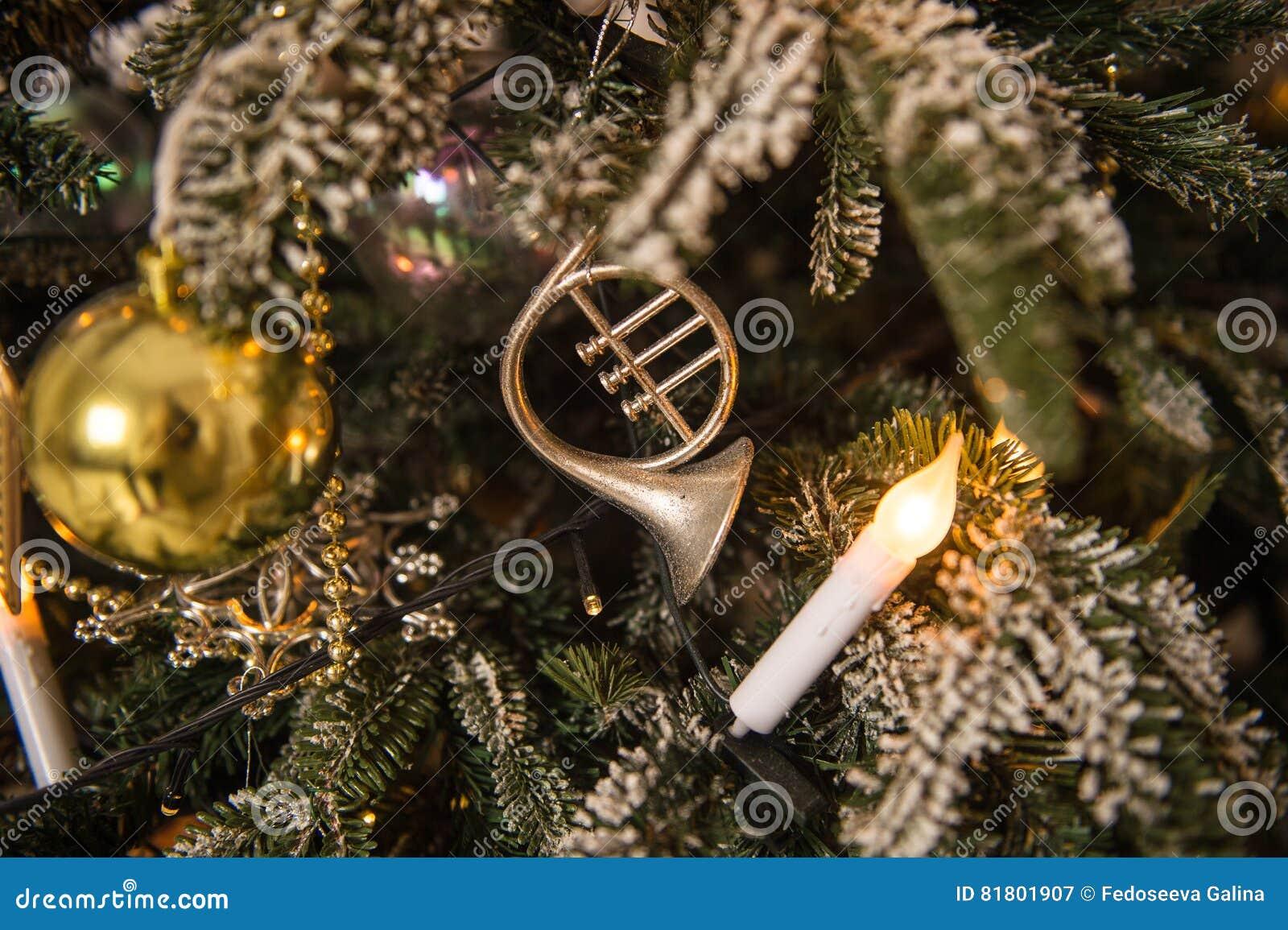 рождество украсило вал Чувство торжества