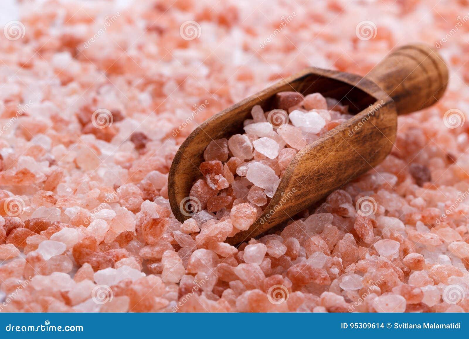 Розовое himalayan соль