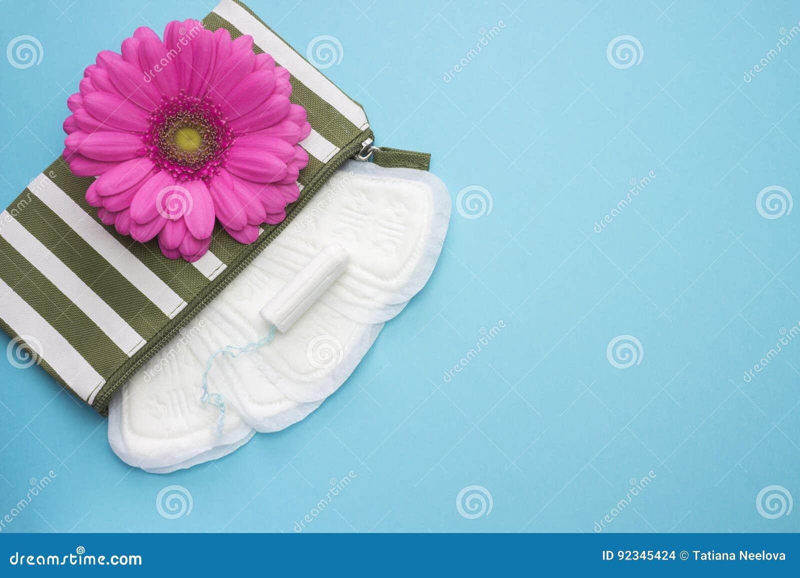 Розовые цветок маргаритки gerbera и beautician нашивки с менструации пусковыми площадками и тампонами ежедневно Фото зачатия гиги
