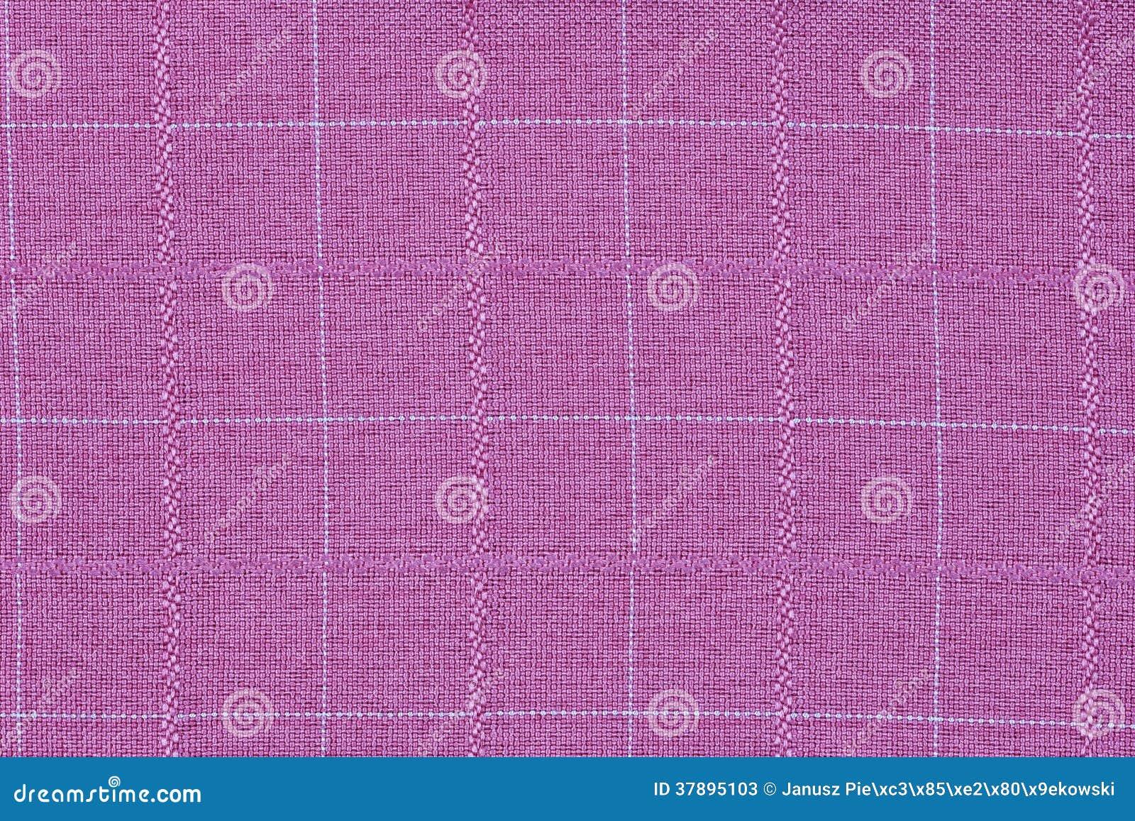 Розовый материал в решетку, предпосылку ткани