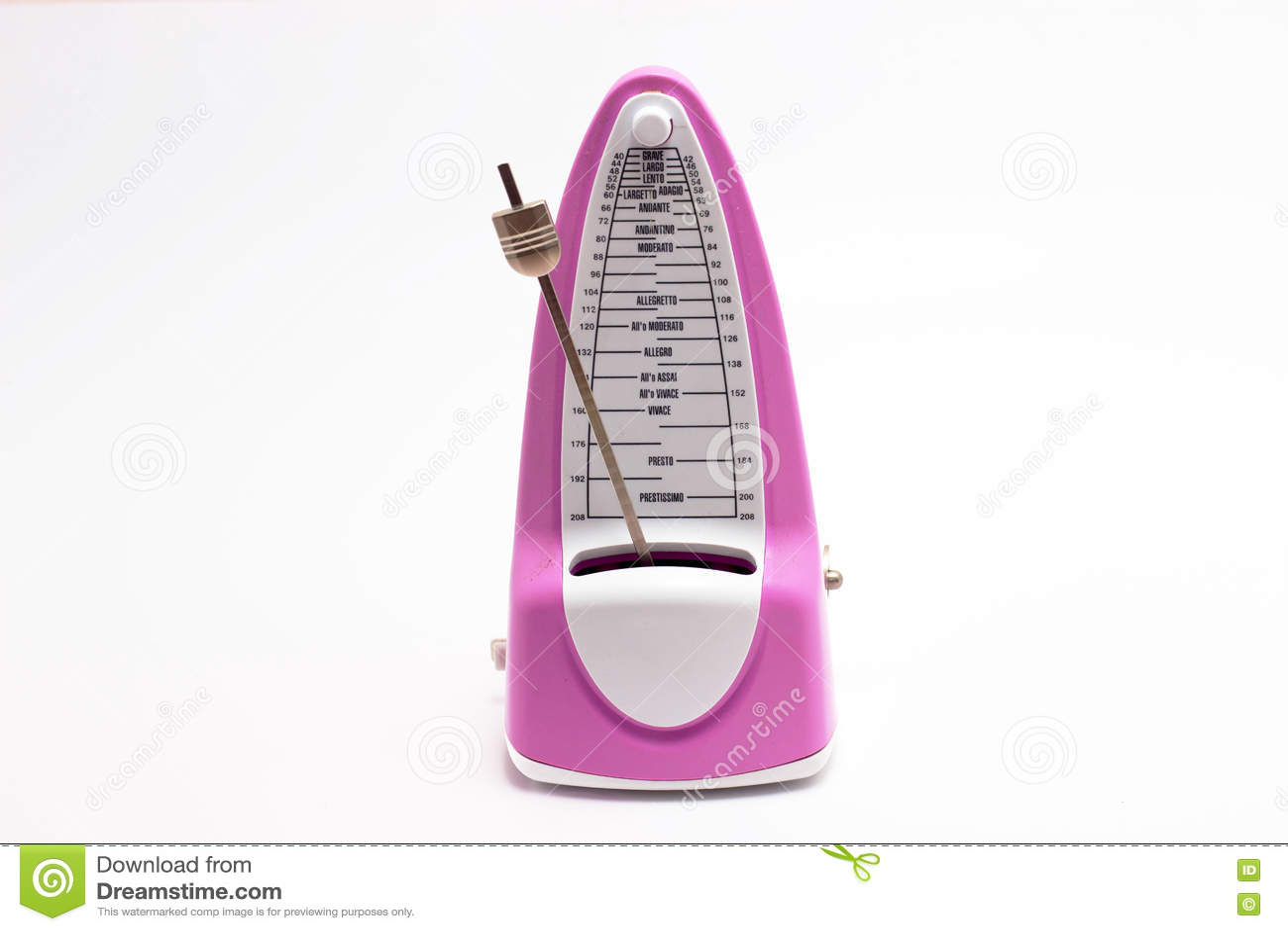 Download Розовый современный метроном Стоковое Фото - изображение насчитывающей деревянно, маштаб: 72281438