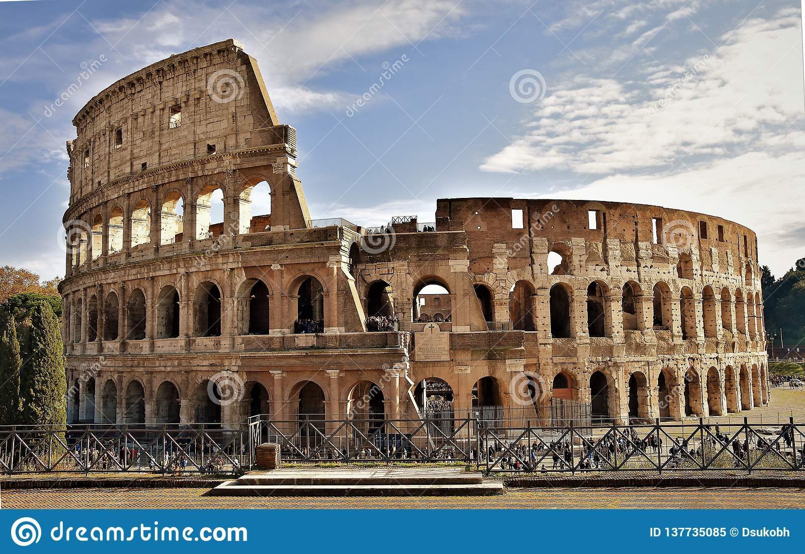 Романо colosseo Il, Италия