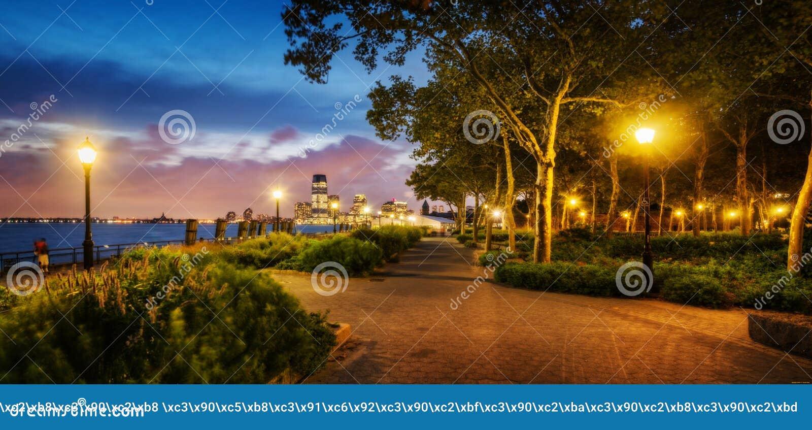 Романтичная дорожка прогулки