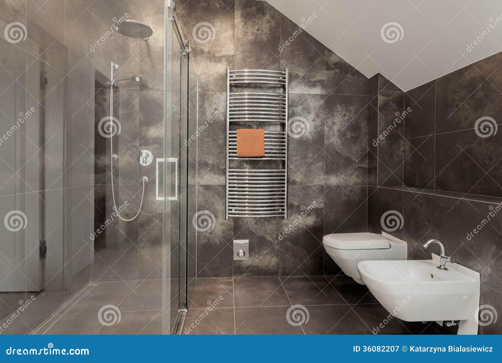 Роскошный интерьер ванной комнаты
