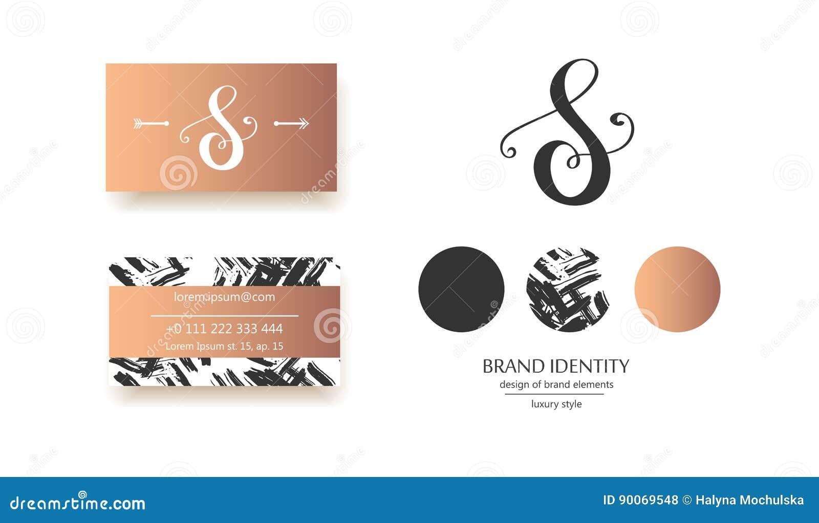 Роскошный каллиграфический вензель письма s - vector шаблон логотипа Изощренный дизайн бренда
