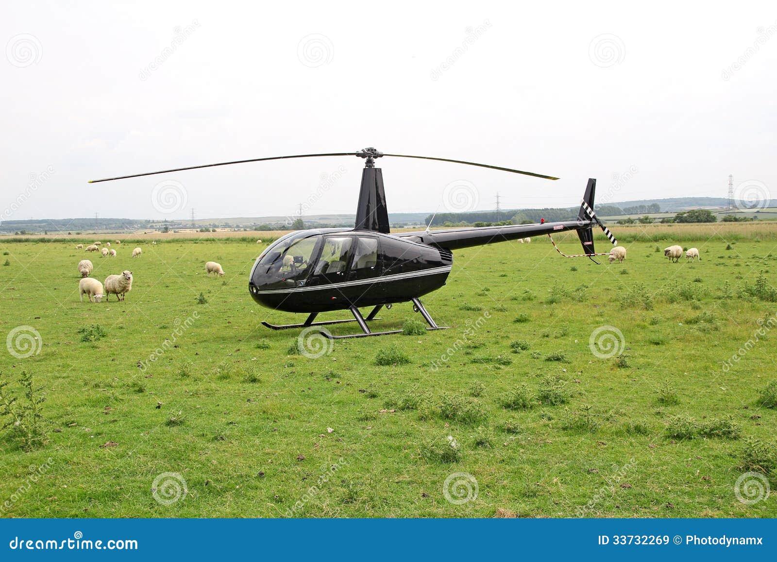 Роскошный частный вертолет