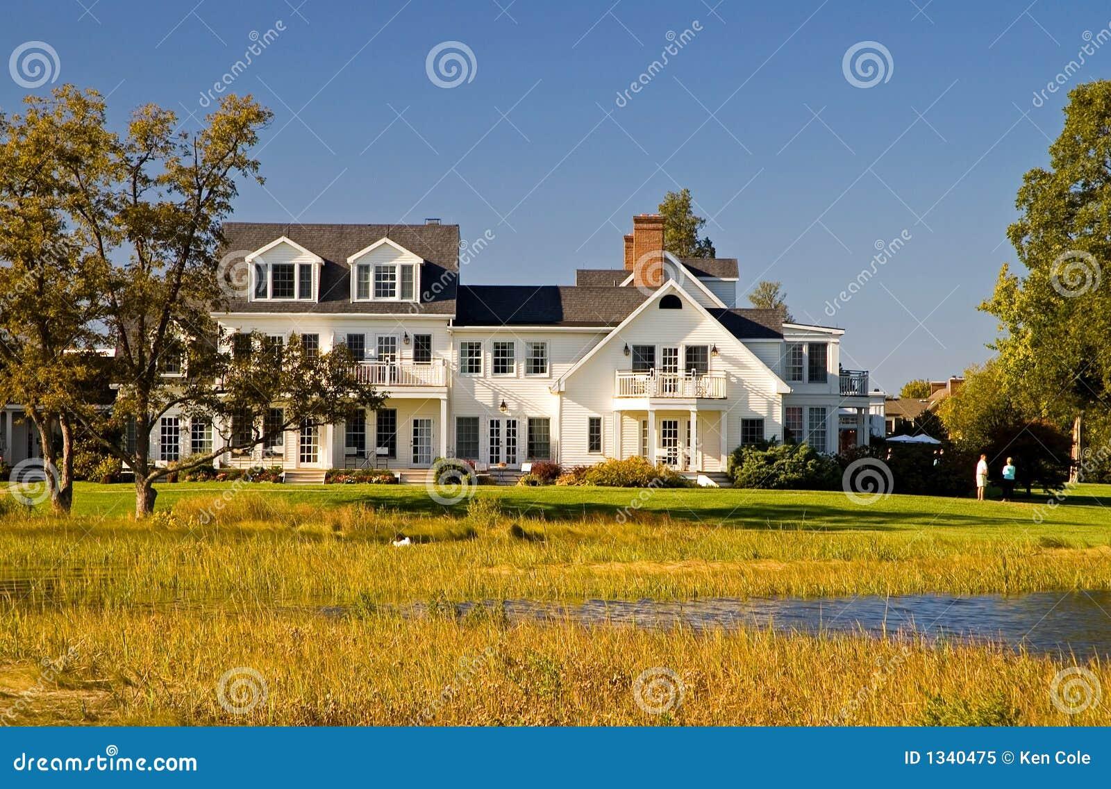 роскошь дома chesapeake залива