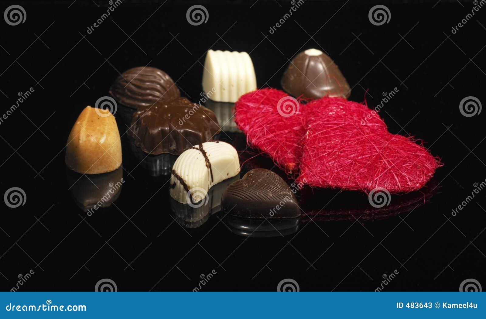 роскошь шоколадов симпатичная
