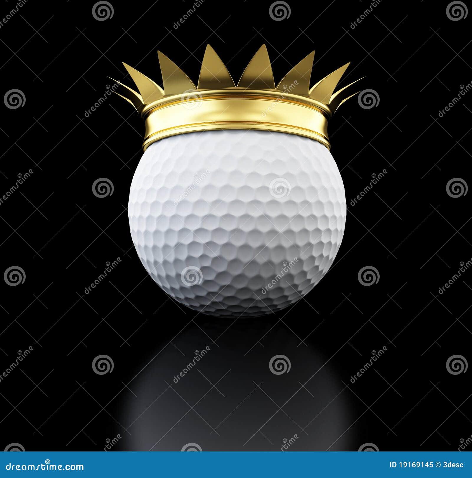 росли гольф золота шарика, котор