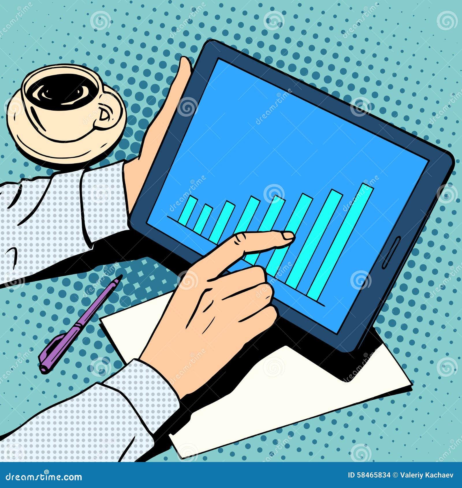 Рост план-графика бизнесмена концепции дела
