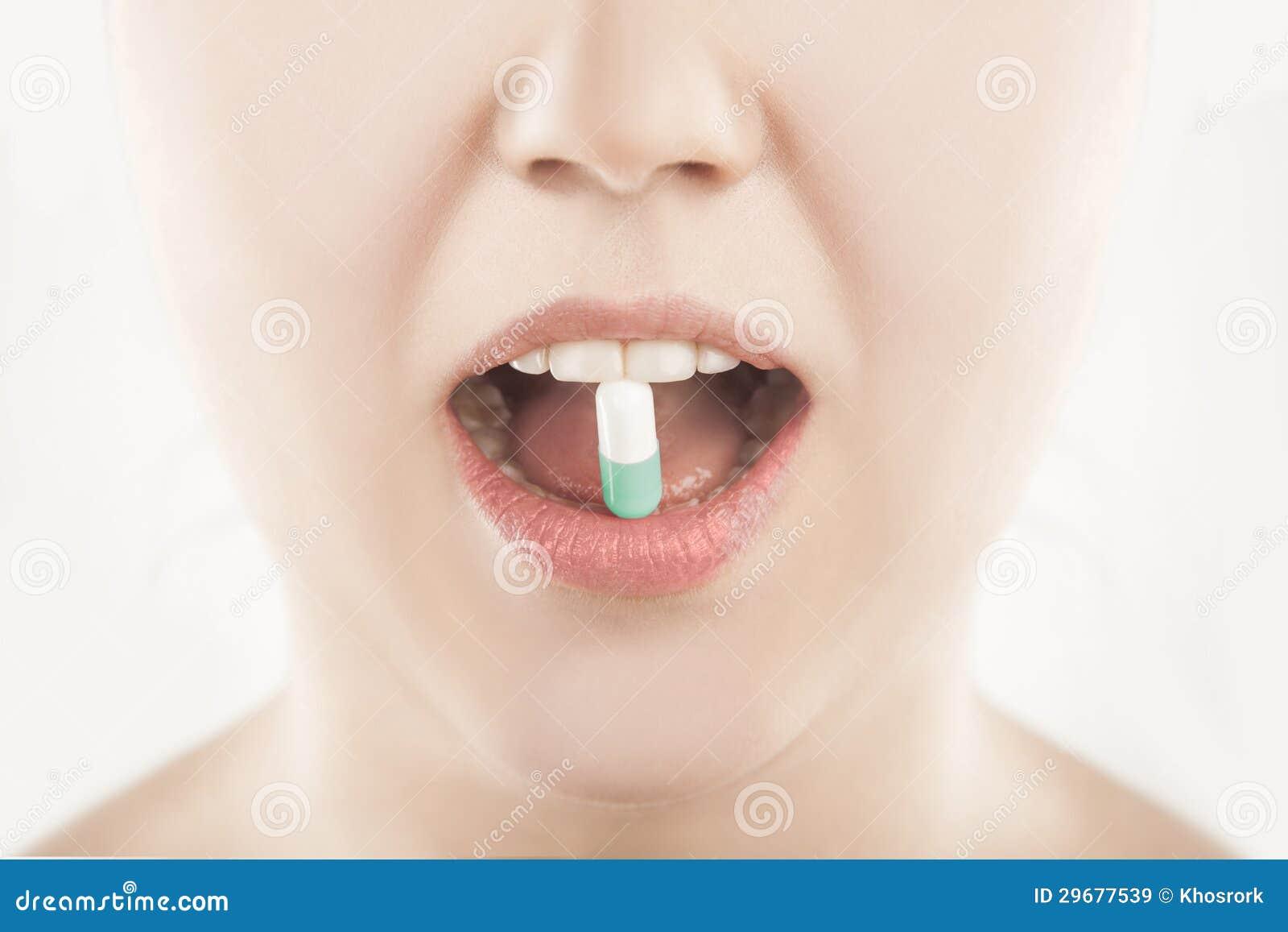 серит в рот