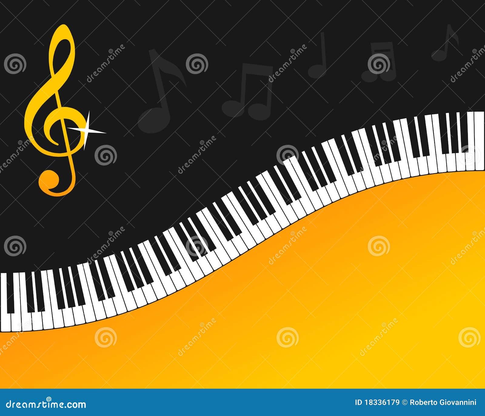 рояль клавиатуры золота предпосылки