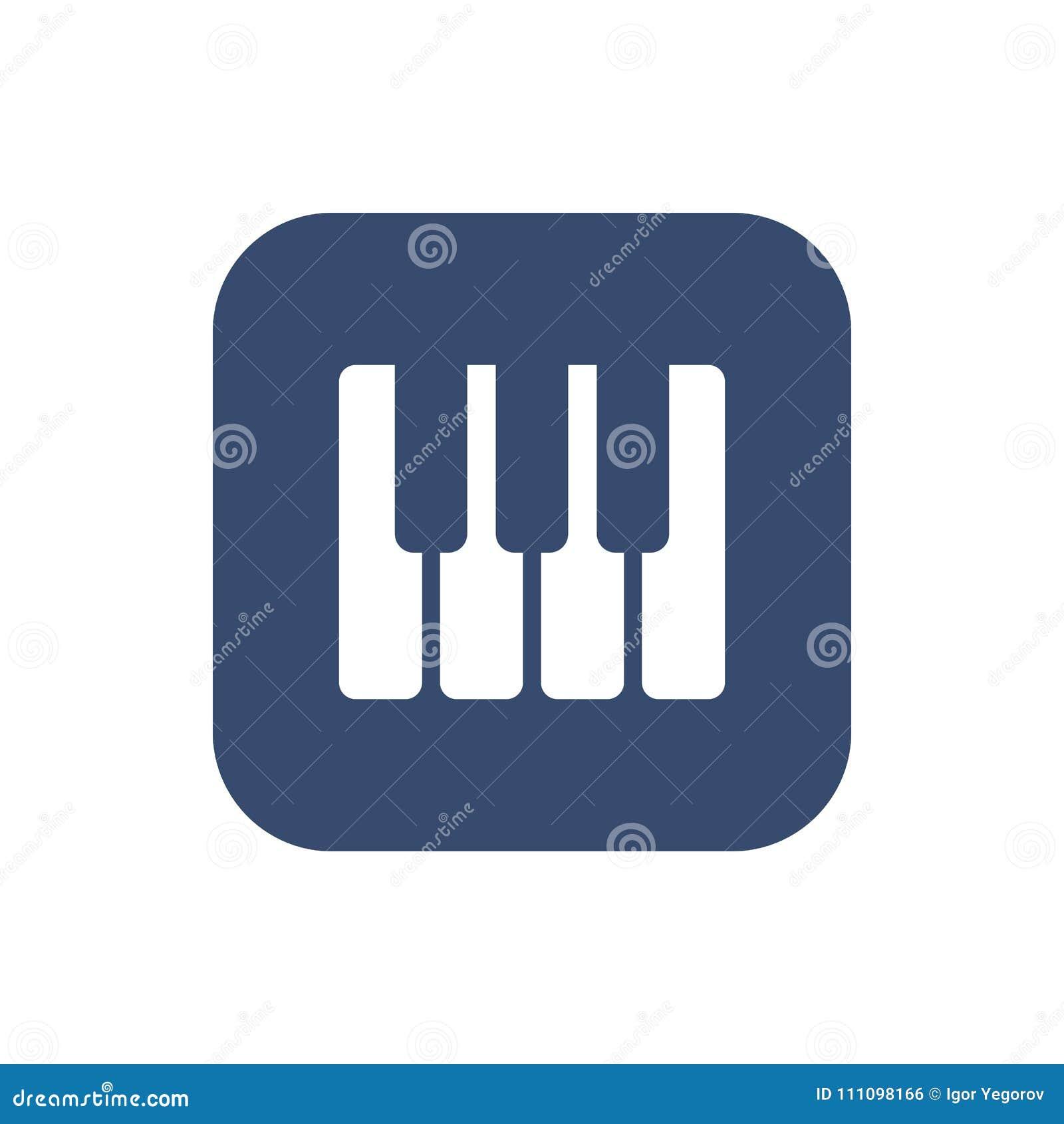 Рояль пользуется ключом значок