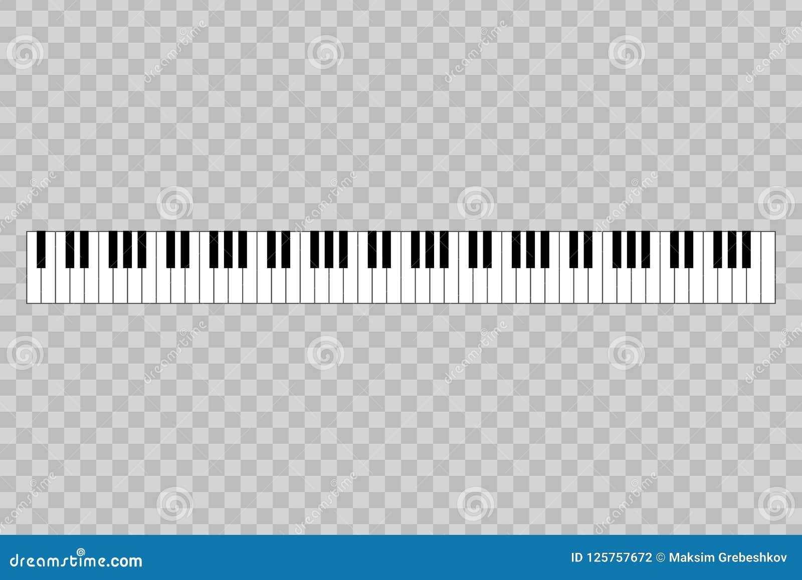 рояль с ключом 88