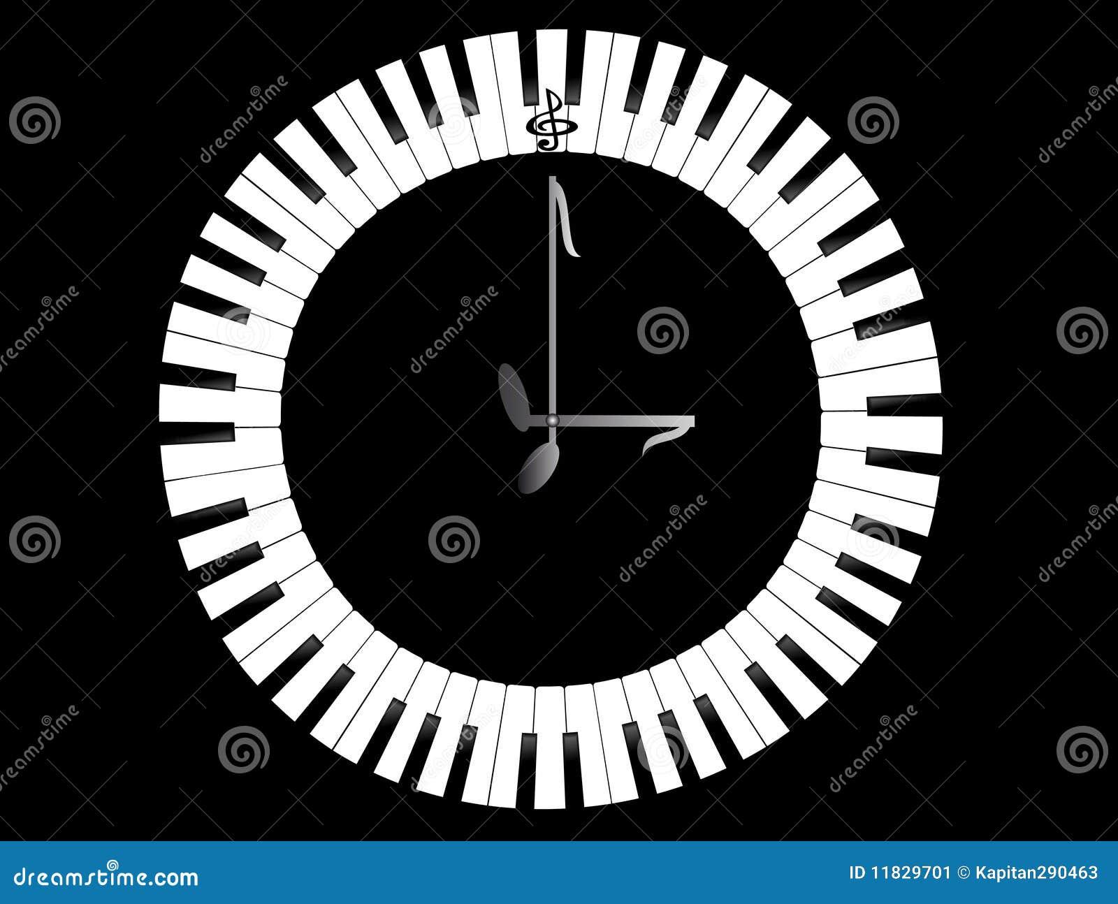 рояль часов