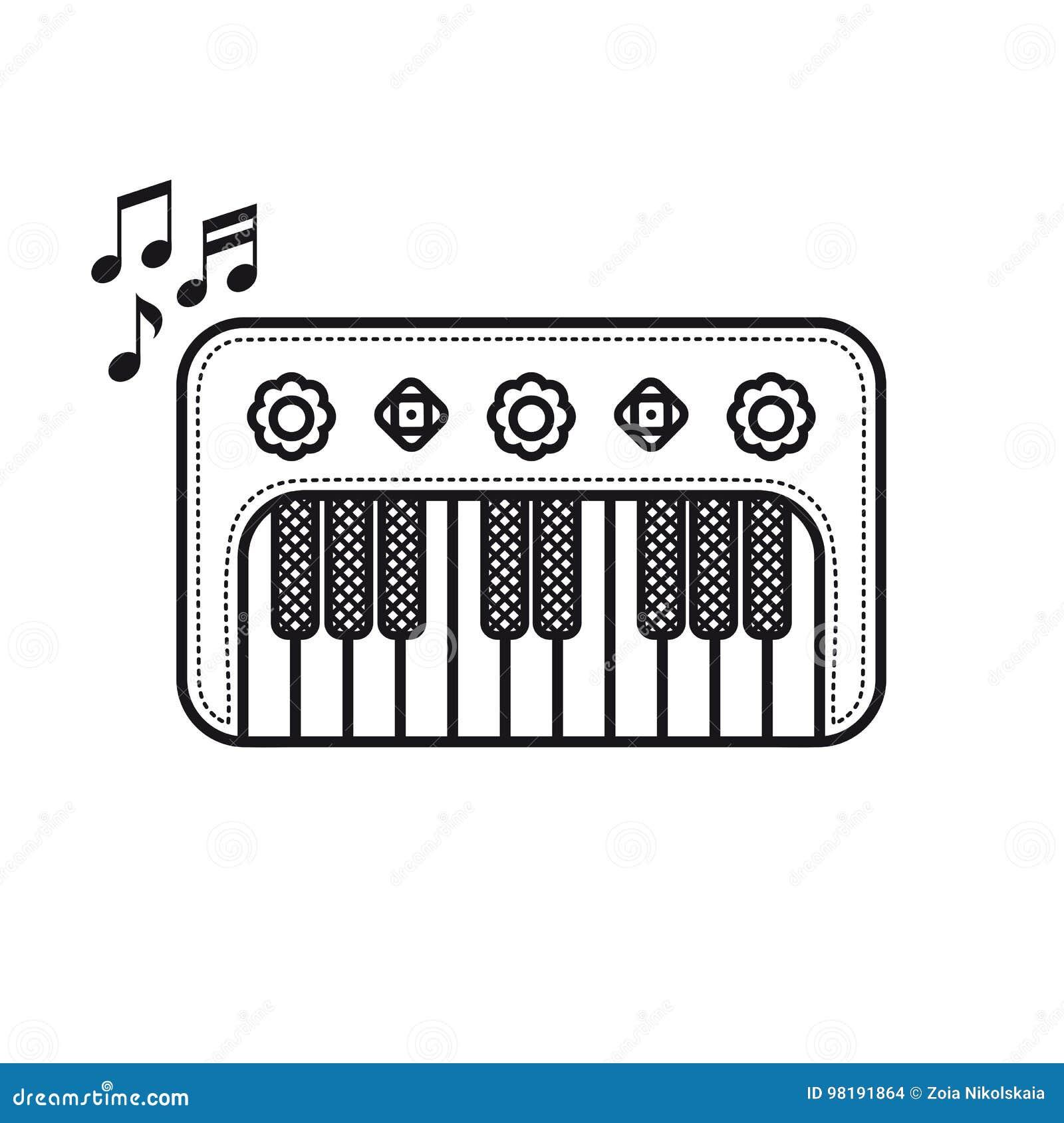 Рояль Игрушка младенца музыкального инструмента Тип шаржа
