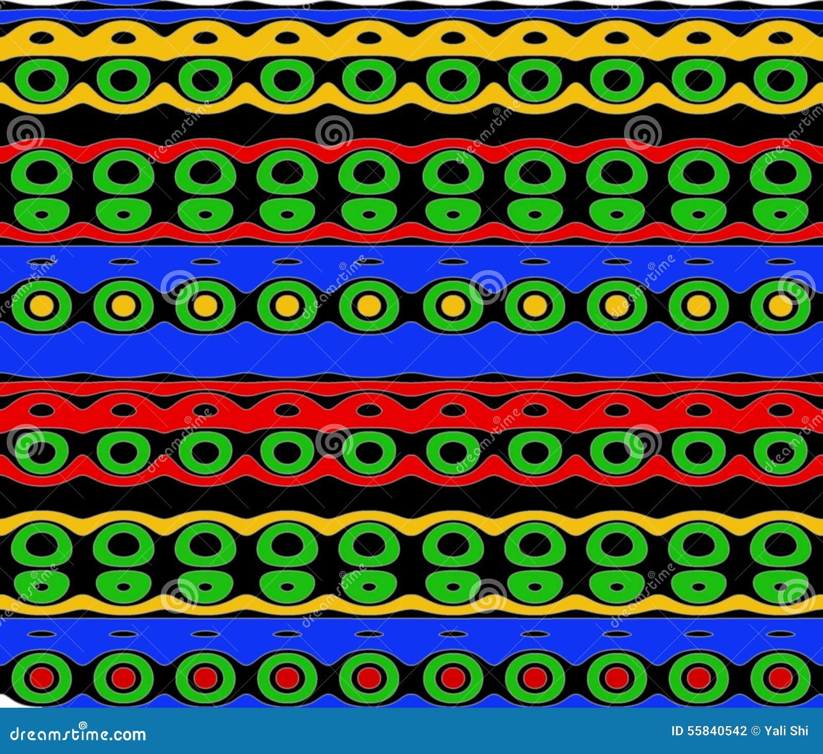 Родная картина в ярких цветах