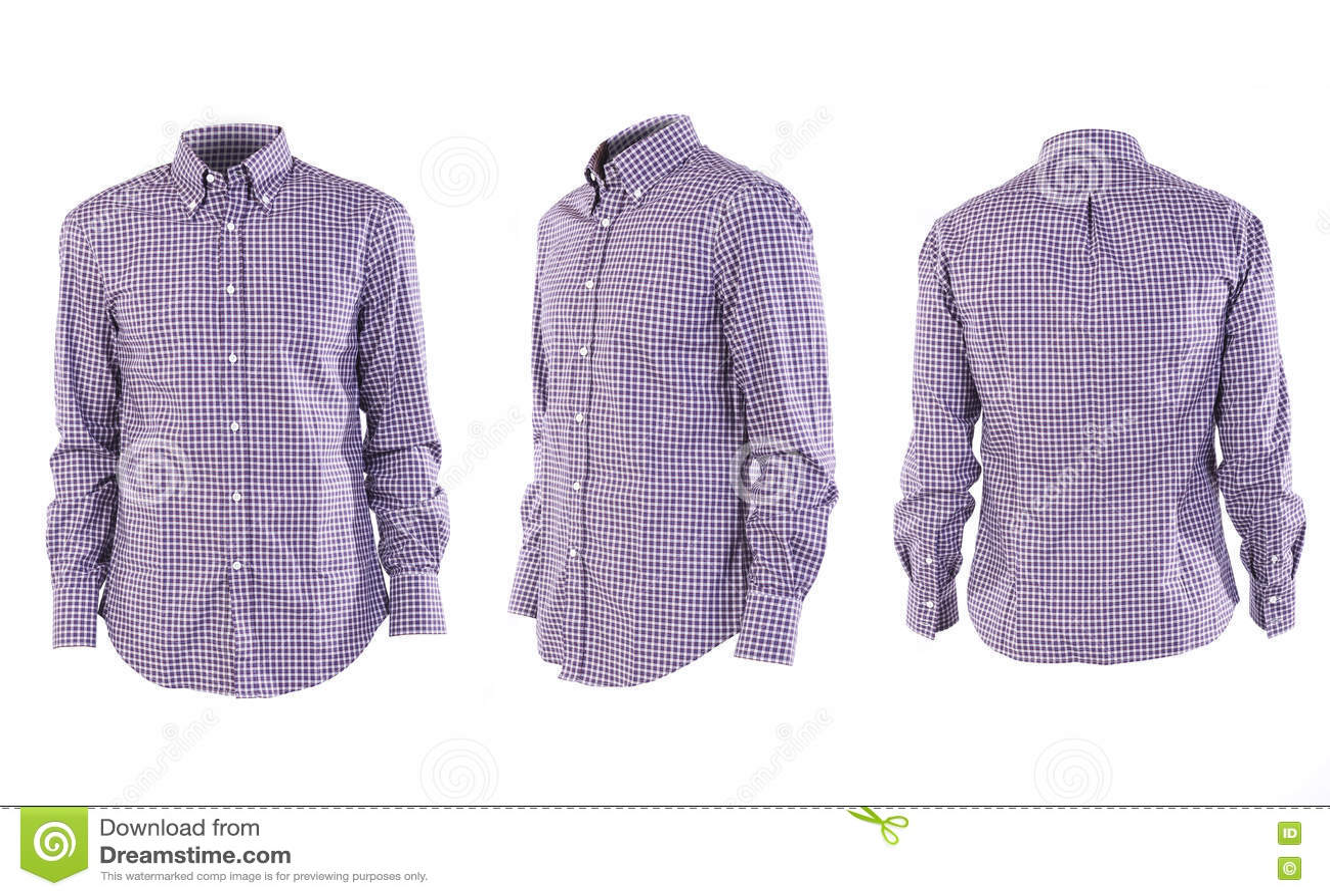 Рубашка людей на белизне