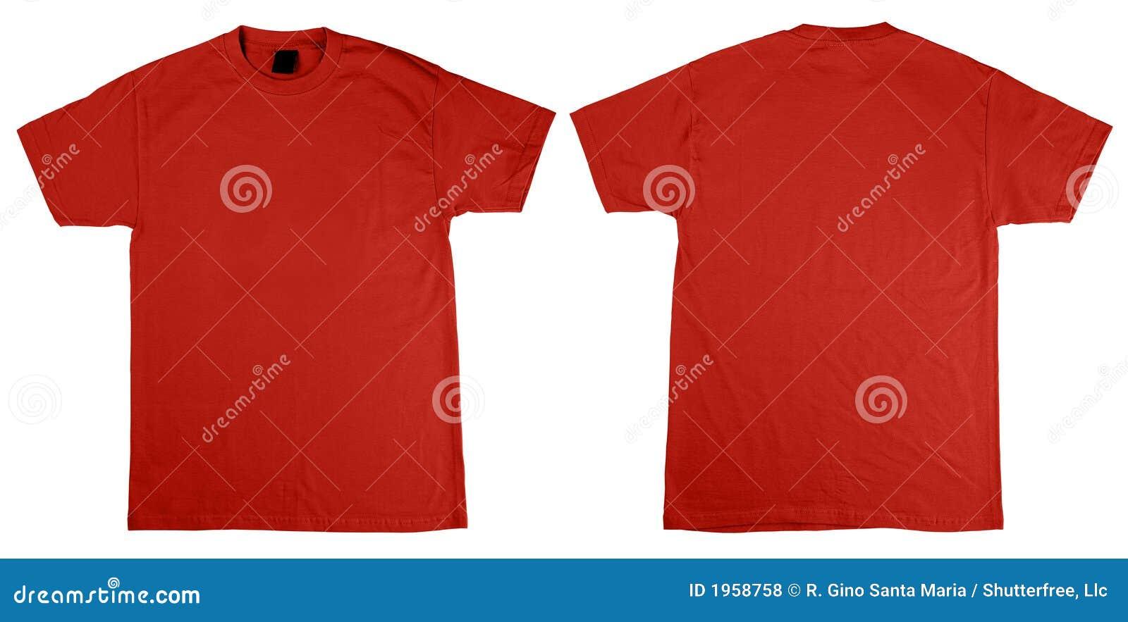 рубашка t заднего фронта