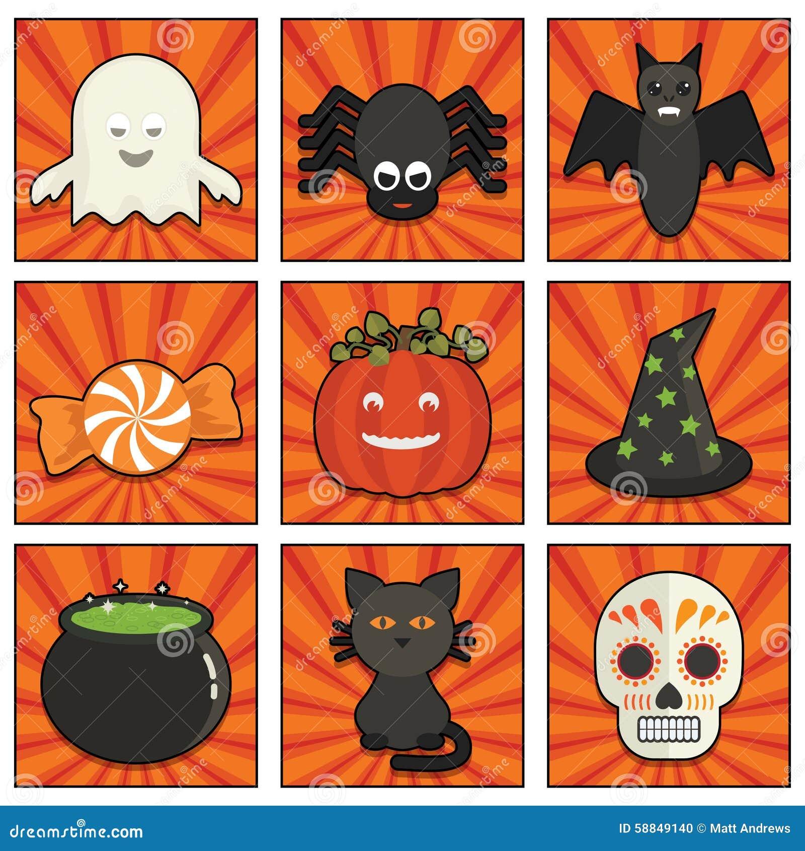 другая тыква икон halloween что-то ведьмы