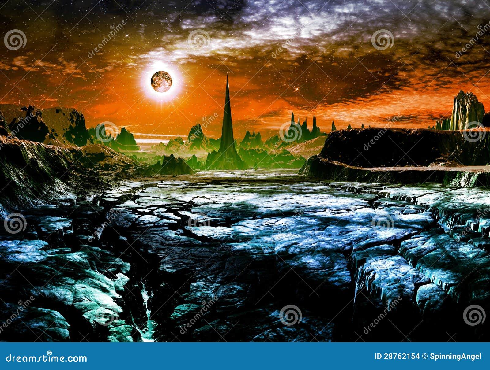 Руины города чужеземца на Faraway планете