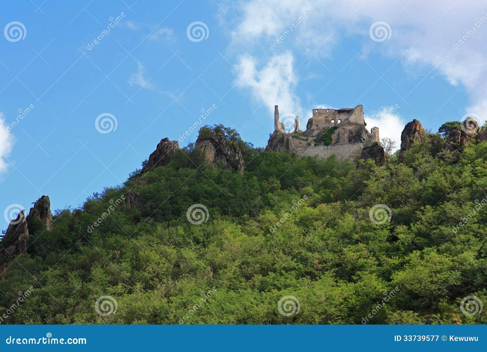 Руины замка Durnstein