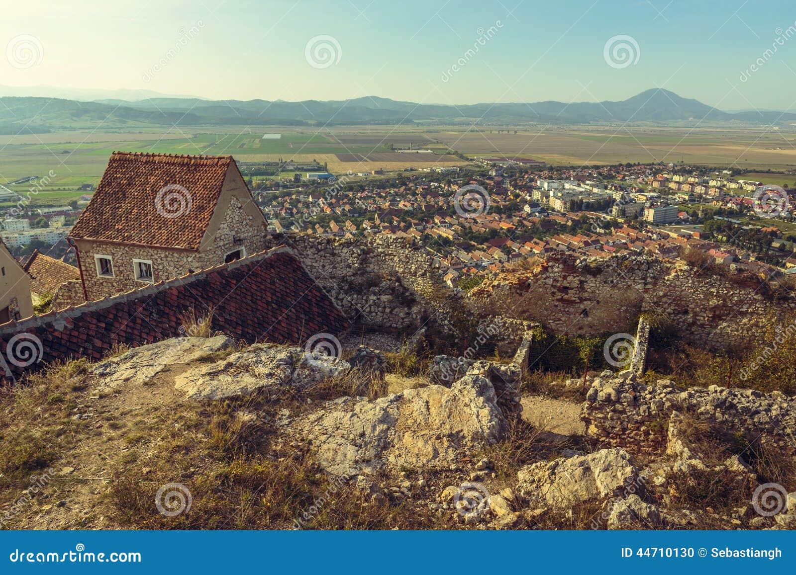 Руины цитадели Rasnov