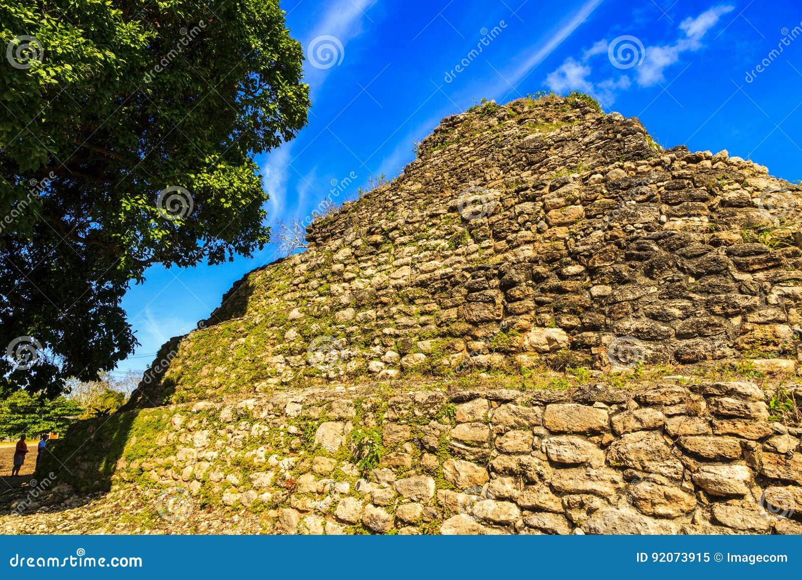 руины belize майяские