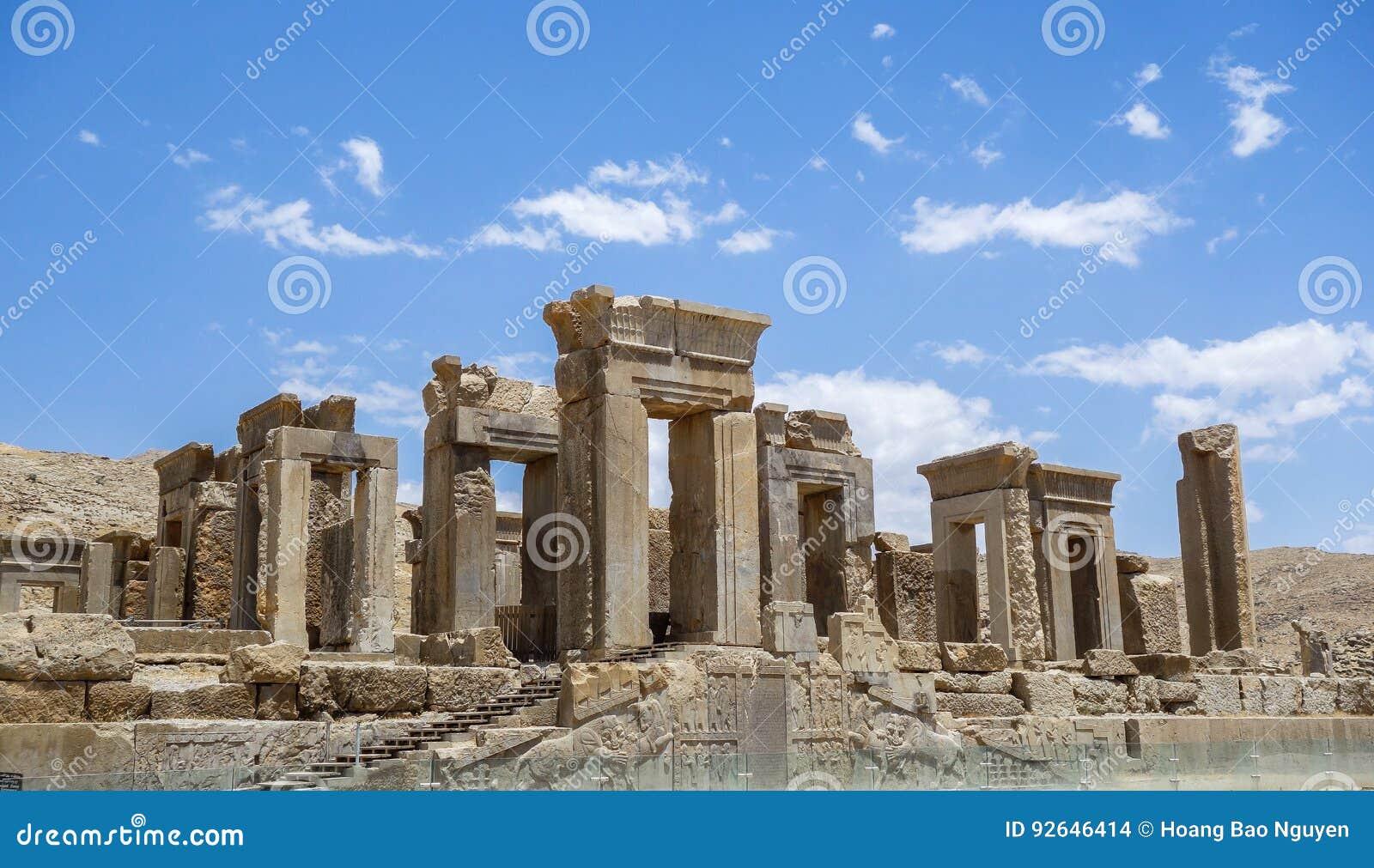 Руины Persepolis в Иране