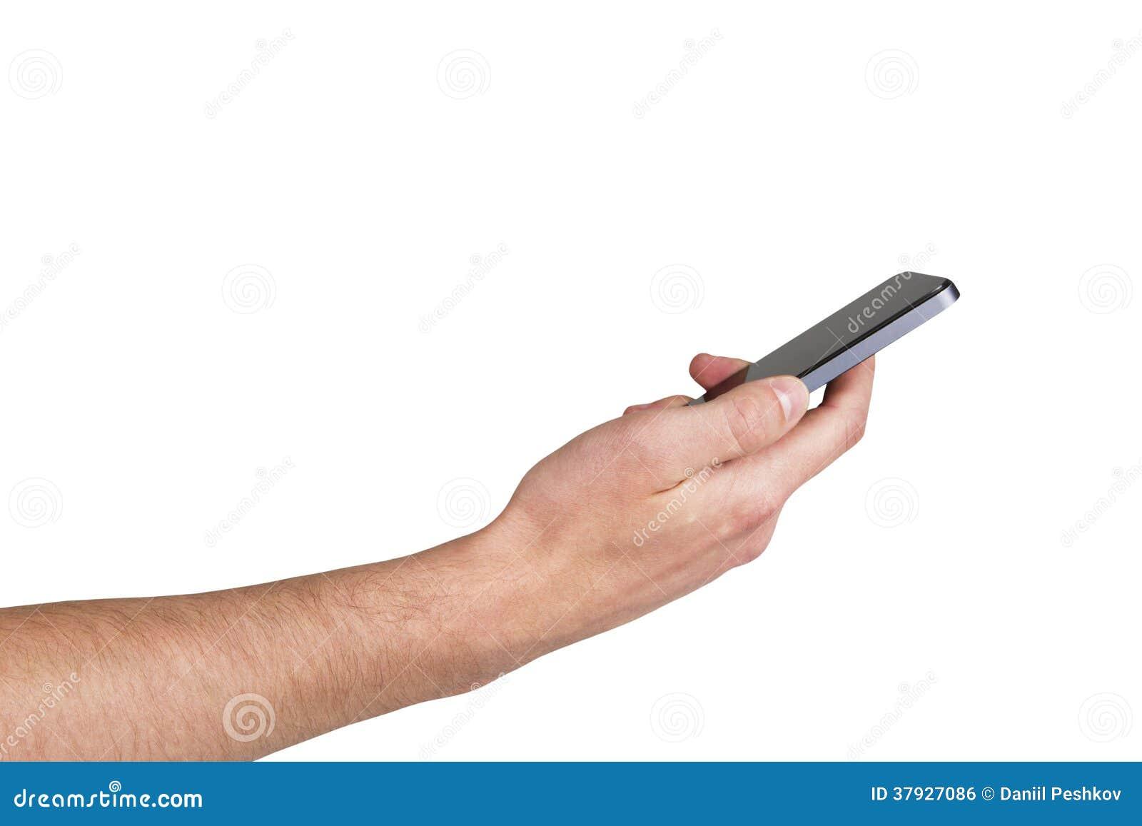 Рука с телефоном
