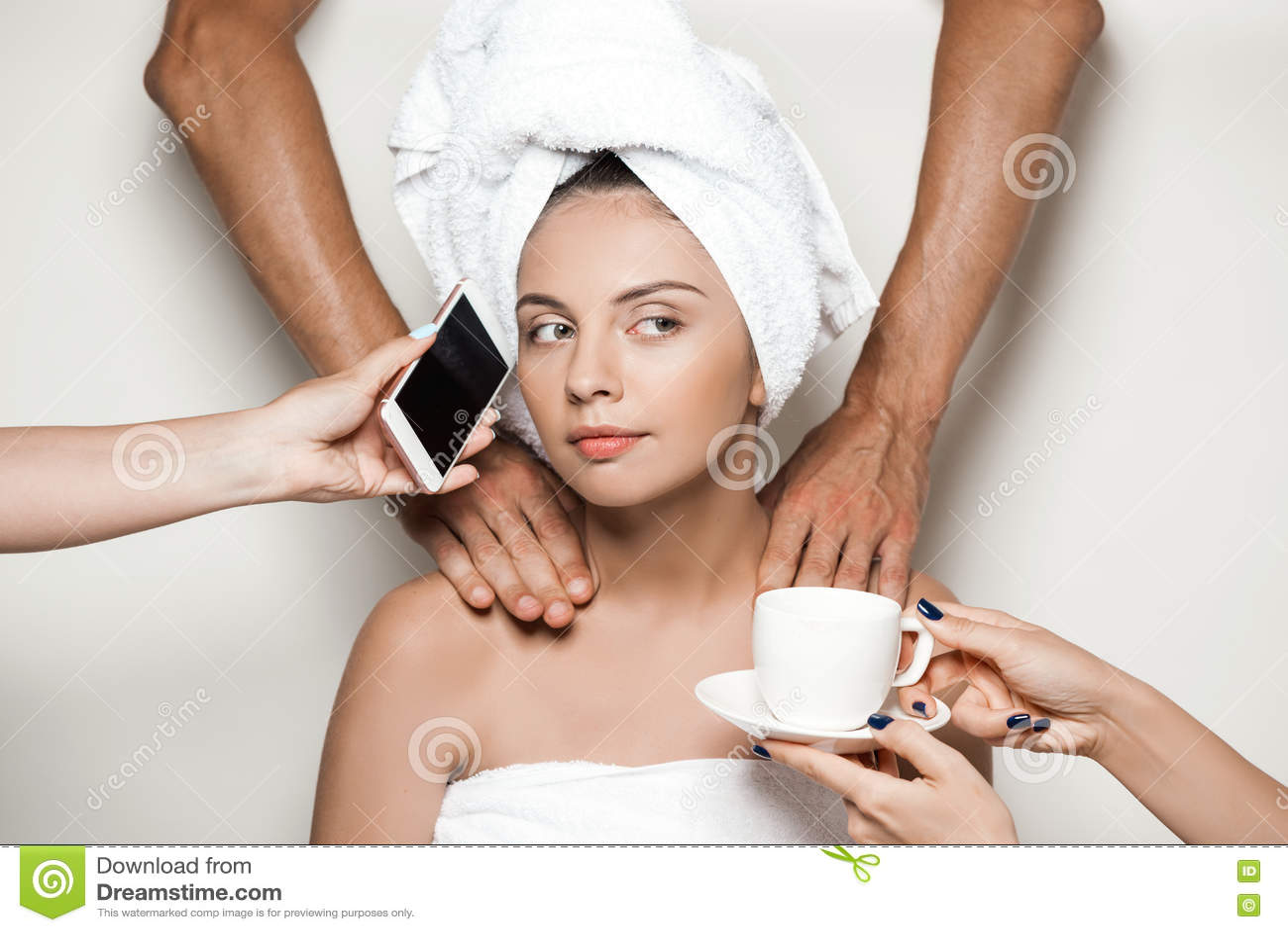 Как сделать девушке массаж видео