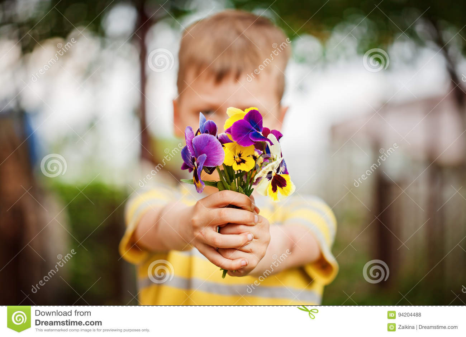 Контакт цветков
