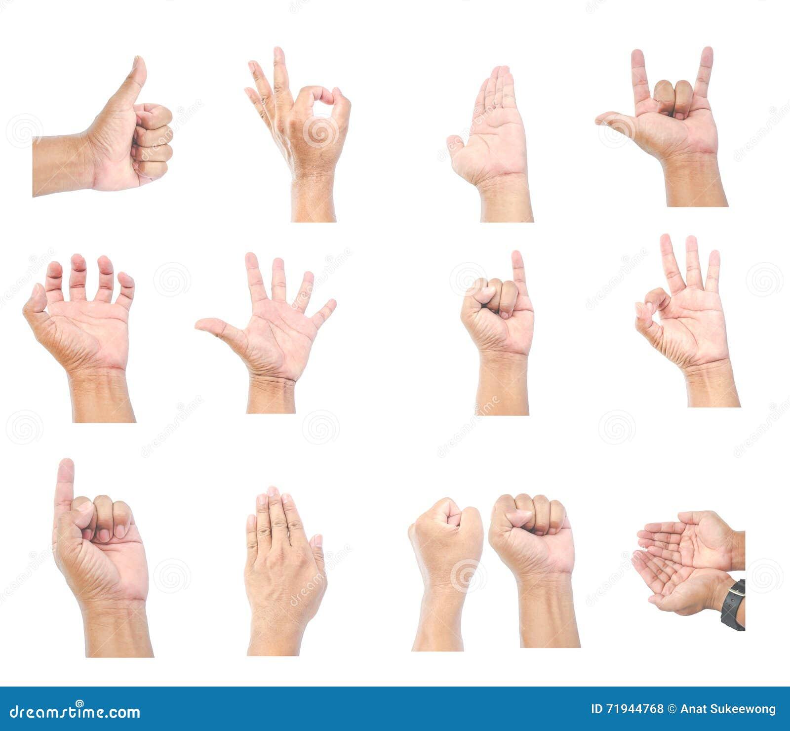 Руки людей на белой предпосылке