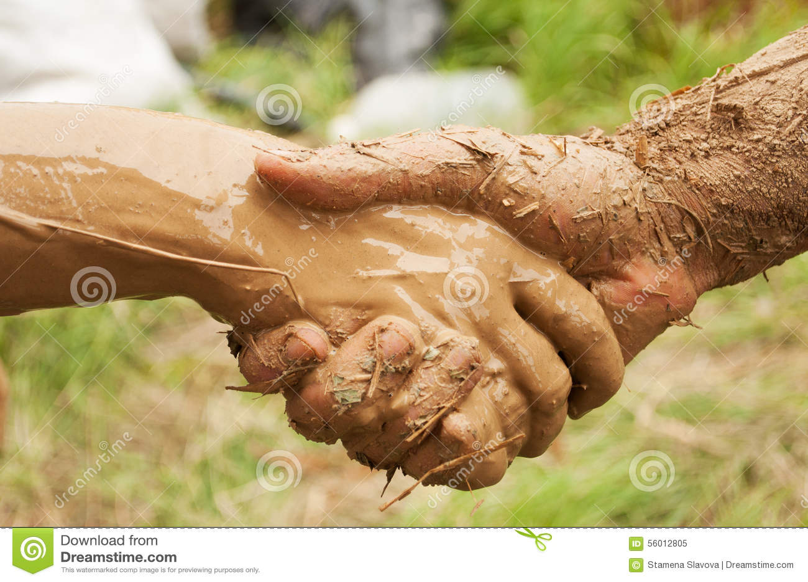 Рукопожатие грязи