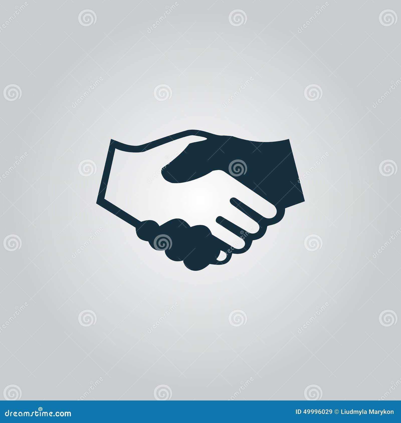 Рукопожатие Предпосылка для дела и финансов