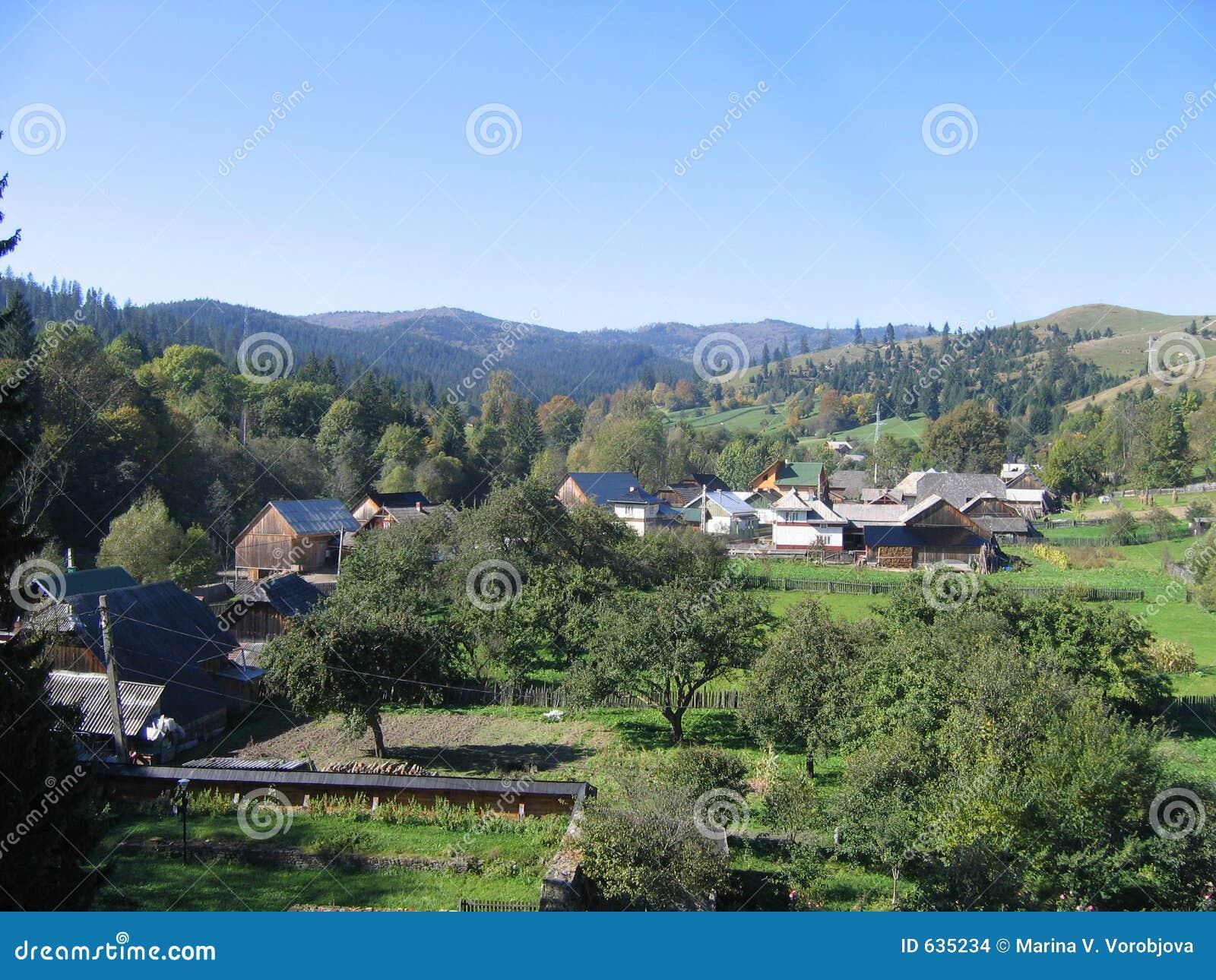 Download румын ландшафта стоковое фото. изображение насчитывающей румыния - 635234
