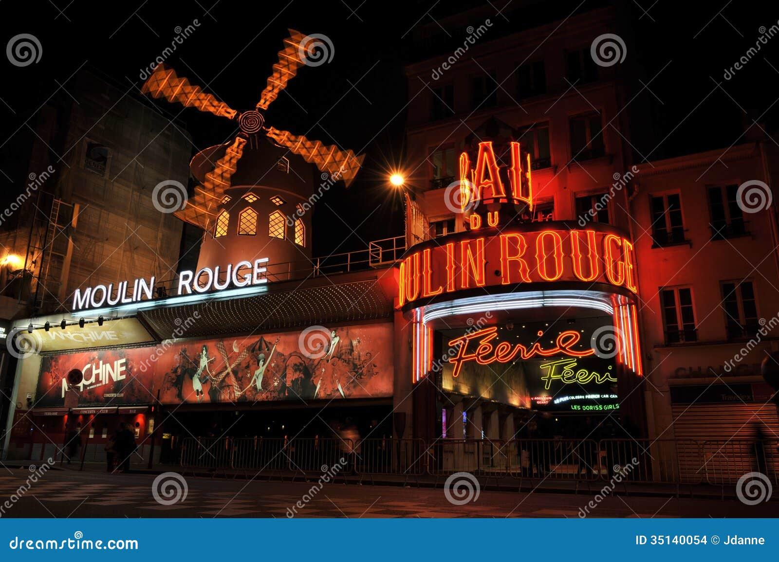 Румян Moulin, Париж