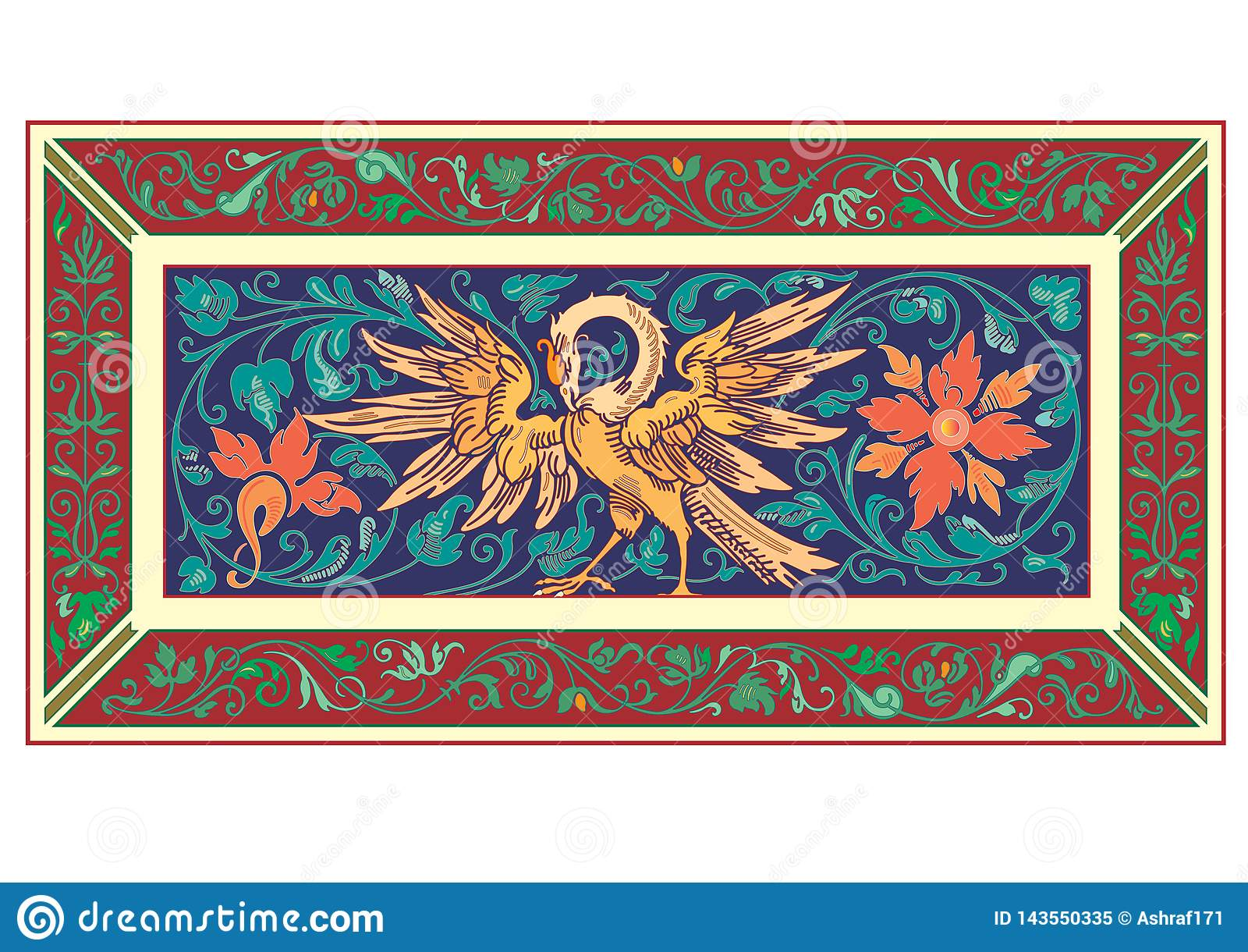 Русский кельтский восточный орнамент - дизайны иллюстрации