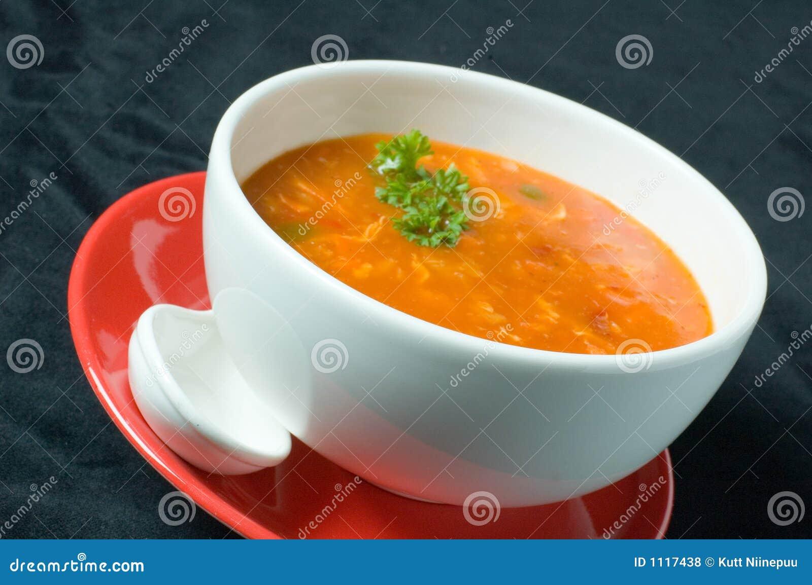 русский суп толщиной