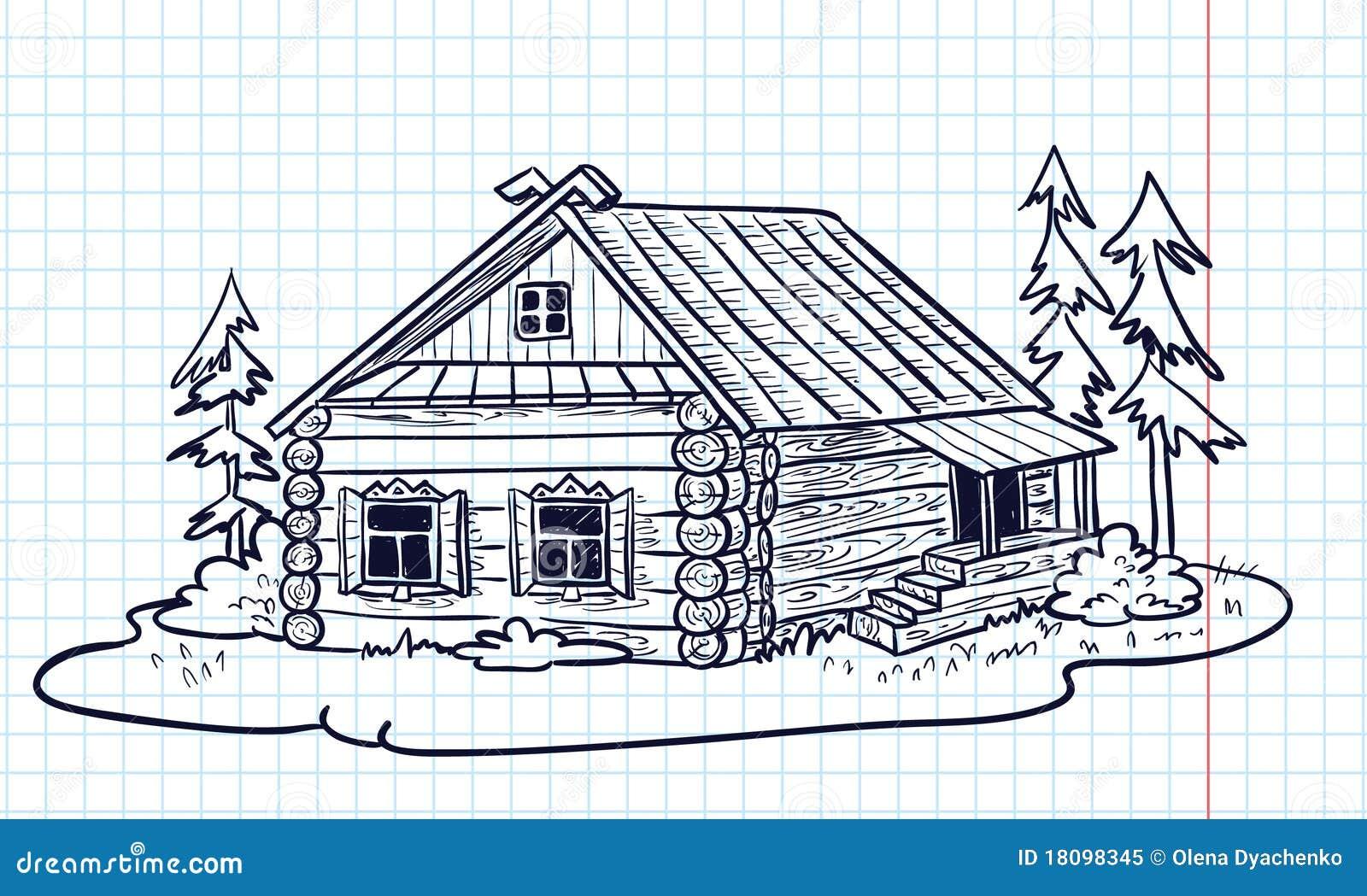 всего рисунок деревенский домик с узорами дизайнеры обращаются