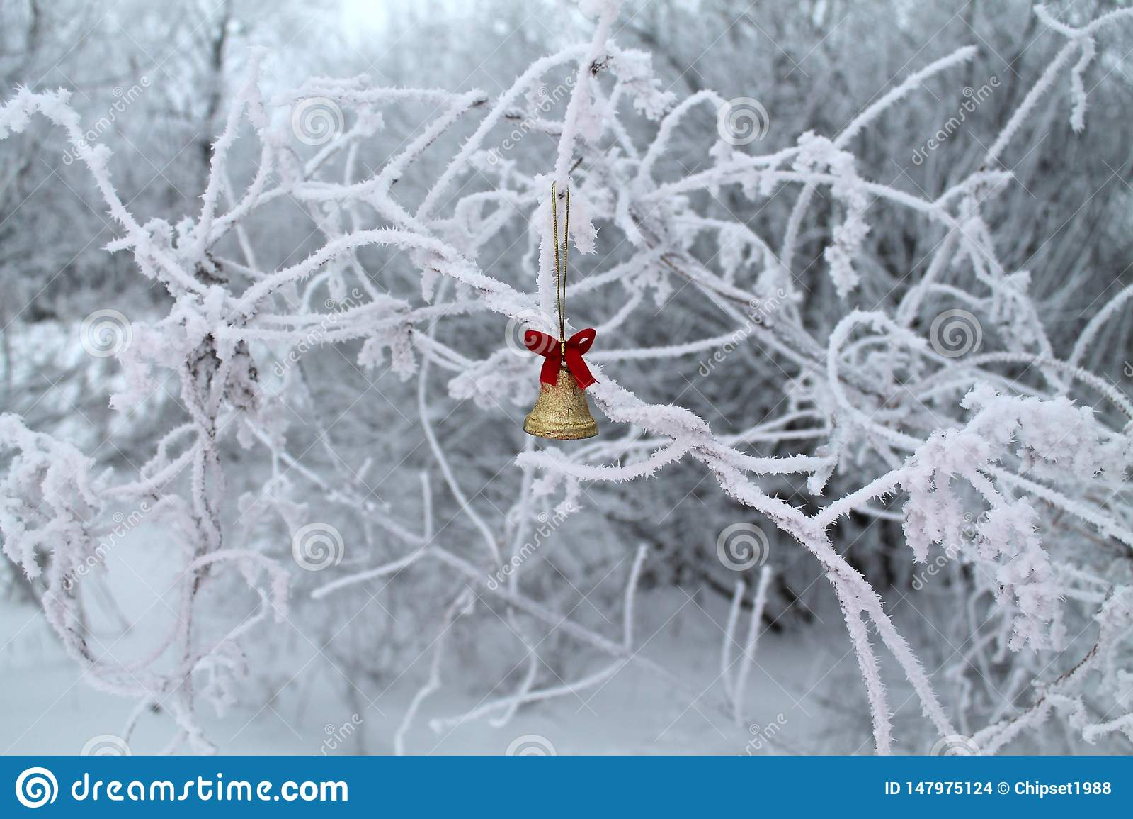 Русское холодное рождество мечты
