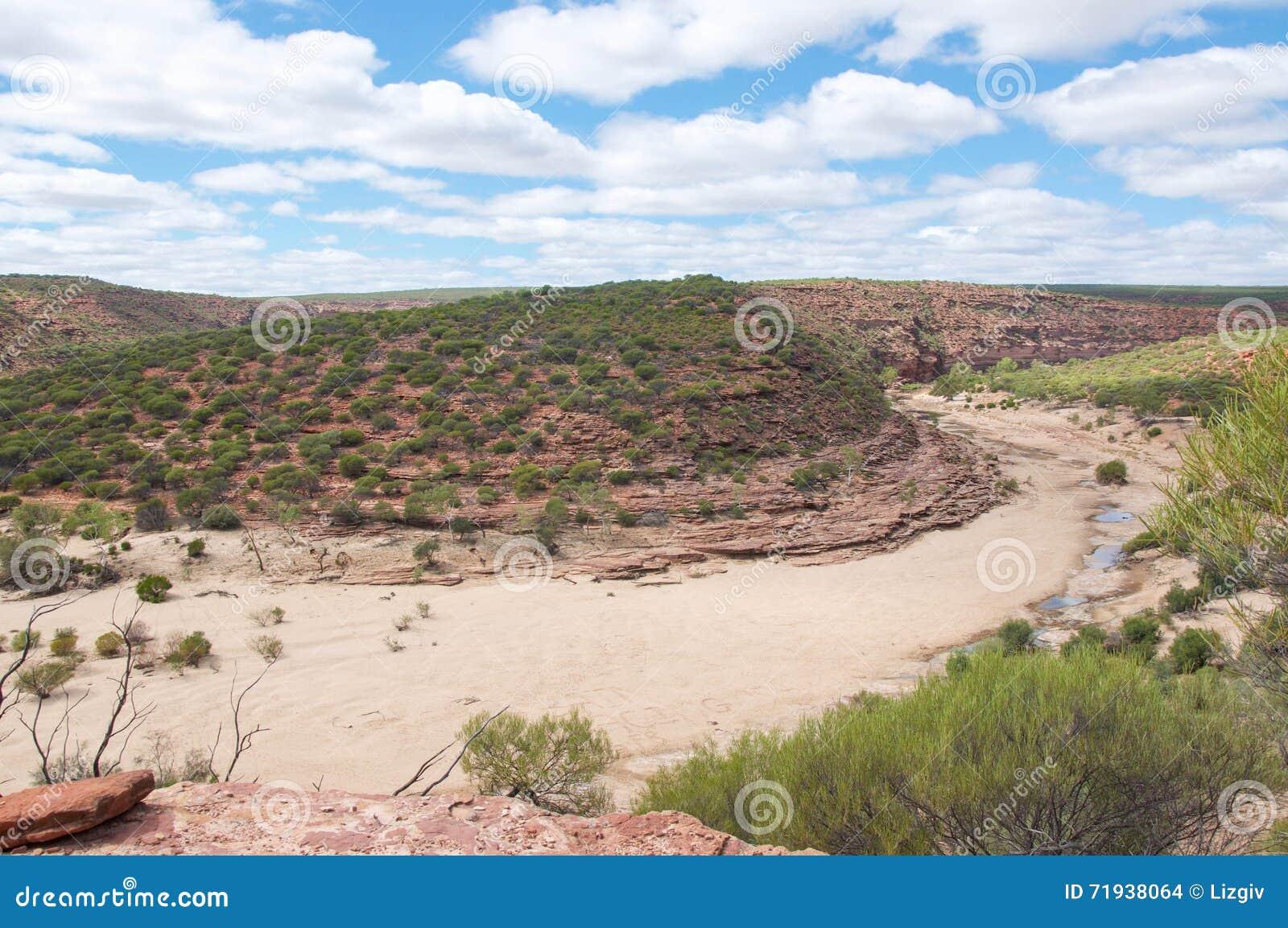 Русло реки Sandy