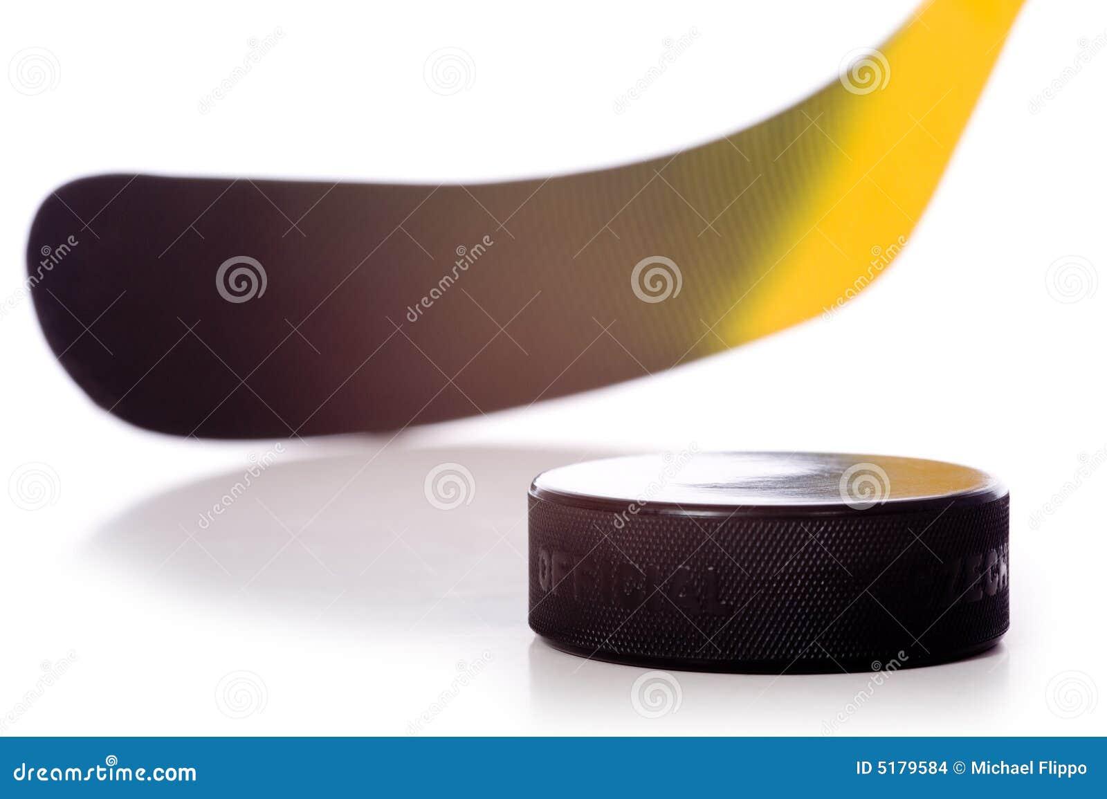 ручка шайбы хоккея